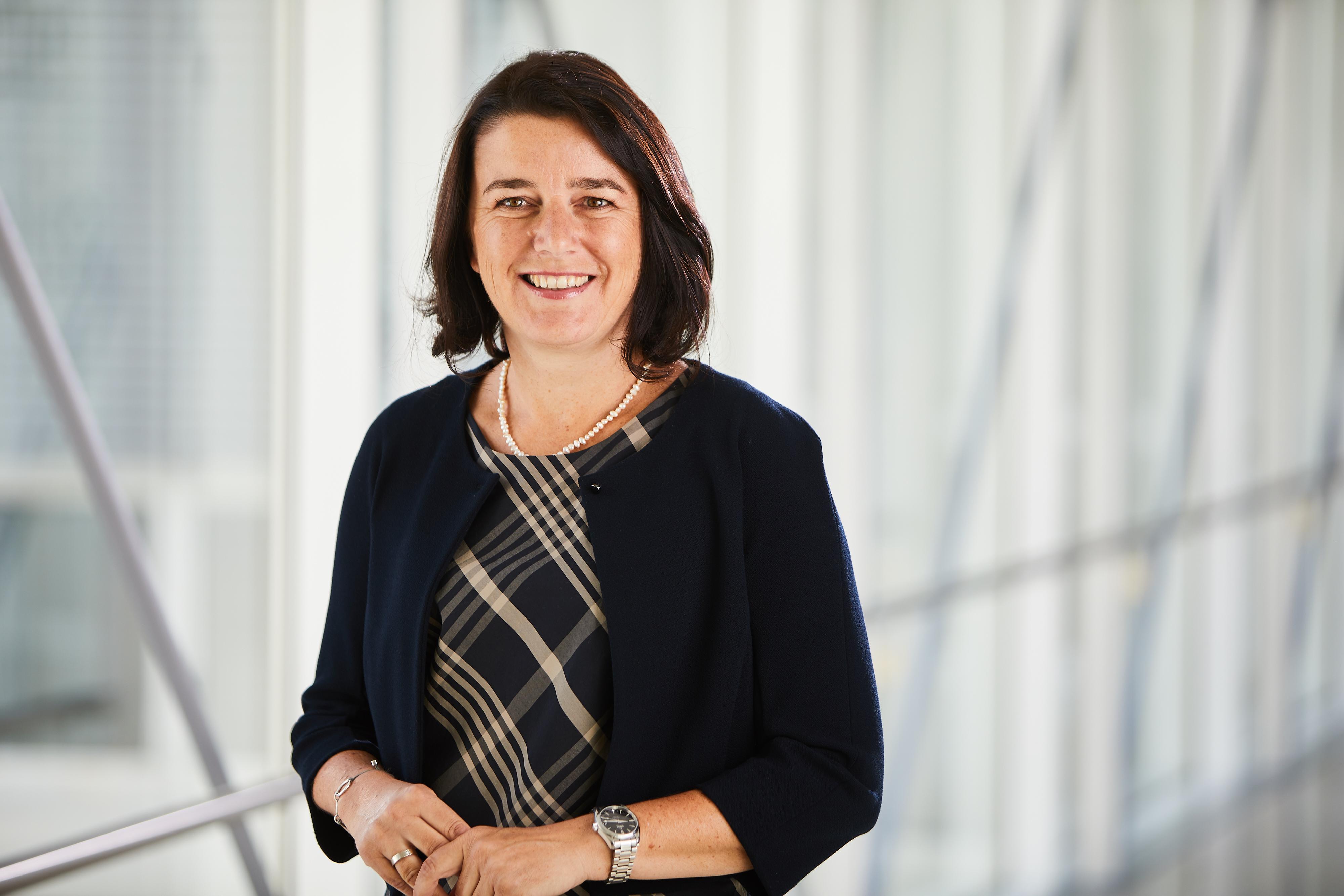 © Ordensklinikum Linz/Wiesler:  DGKP Elisabeth Märzinger, MScN, seit 1. Juli 2018 Pflegedirektorin im Ordensklinikum Linz Elisabethinen.
